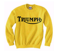 triumph sweatshirt competition yellow