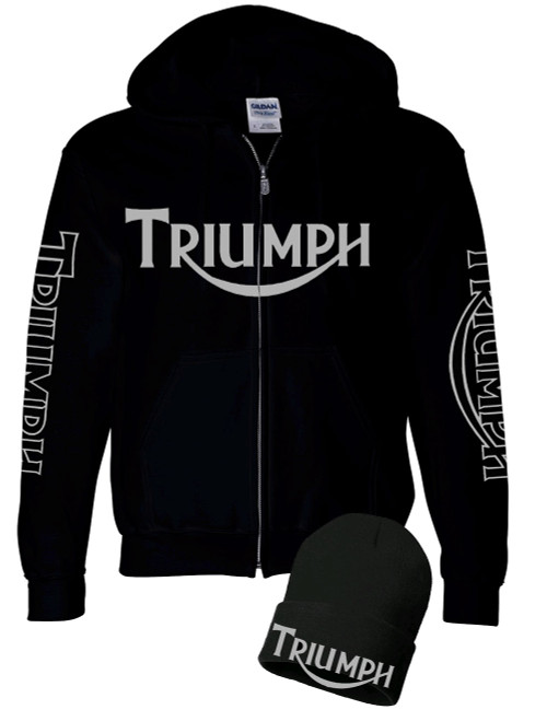 triumph hooded sweatshirt