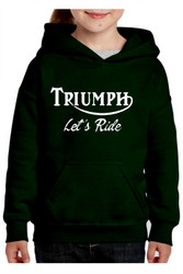 triumph youth hoodie