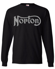 Norton longsleeve (black/gunmetal grey)