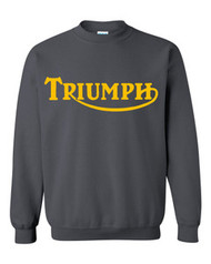 Triumph sweatshirt (charcoal/gold)
