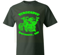 Renegades MC tee (double green)