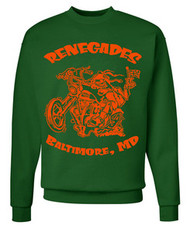 Renegades Sweatshirt (forest/orange)