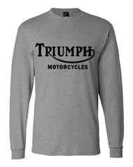 triumph motorcycle shirt