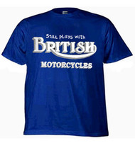 British Motorcycles tee (still plays with)