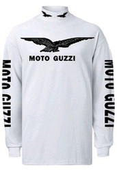 Moto Guzzi riding jersey (loaded/white/black)