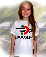 Ducati kid's tee (Flying D)