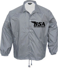 BSA coaches Jacket (silver/grey/black)