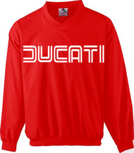 DUCATI riding windshirt (racing red/white)