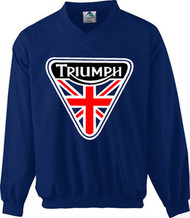 Triumph nulogo windshirt (patch design)