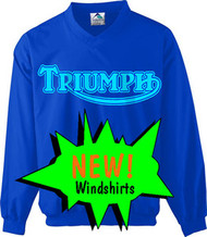 Triumph riding windshirt