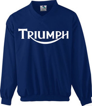 Triumph nulogo riding wind shirt