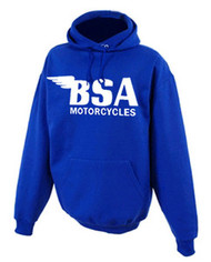 BSA hoodie (royal blue/white)