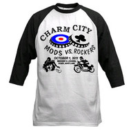 Charm City Mods/Rockers baseball tee