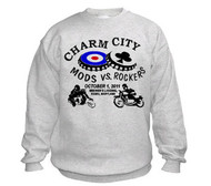 Charm City Mods/Rockers sweatshirt MOD4001sw