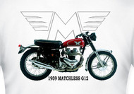 Matchless tee shirt (1959 G12)