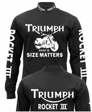 Triumph Rocket 3 riding jersey (fully loaded)