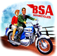 BSA ladies Thunderbolt tee