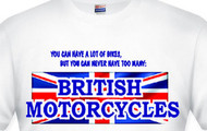 british motorcycles tee