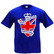 Born to Ride British tee shirt