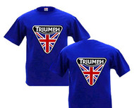 Triumph nulogo patch design shirt (DBL sided)