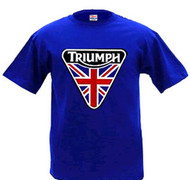 Triumph nulogo patch design shirt