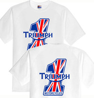 Triumph number one tee (double sided)