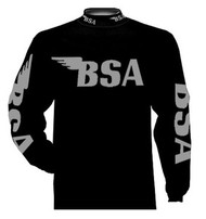 BSA riding jersey Loaded Black/gunmetal grey