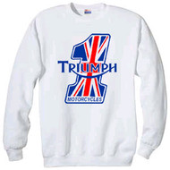 "Triumph sweatshirt ""Number One"""