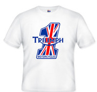 Triumph tee shirt (nulogo number one)