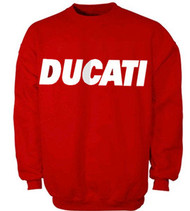 Ducati racing red sweatshirt