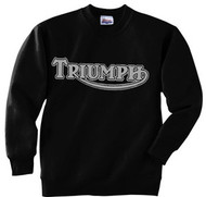 Triumph sweatshirt (black/gunmetal gray)