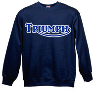 Triumph sweatshirt (navy/royal blue)