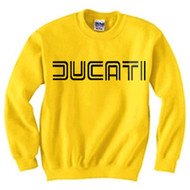 Ducati sweatshirt (competition yellow/black)