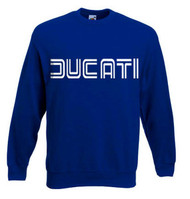Ducati sweatshirt (royal blue/white)