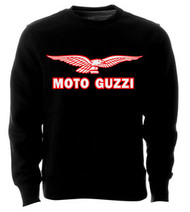 Moto Guzzi sweatshirt (black/white/red)