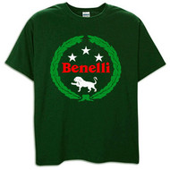 Benelli tee shirt (deep forest green)