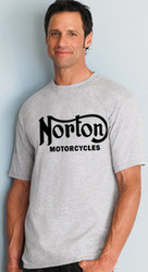 NORTON shirt (tall man's) (ash/black)