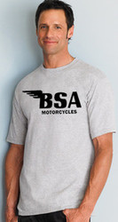 BSA shirt (tall man's)(ash/black)