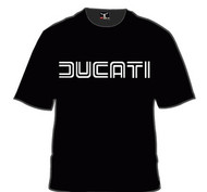 DUCATI tee shirt (black/white)