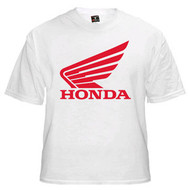 HONDA tee shirt (white/red)