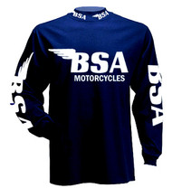 BSA longsleeve jersey (Blue/fully loaded)