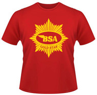 BSA Goldstar shirt (custom)