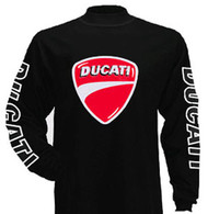 Ducati longsleeve riding jersey (badge)