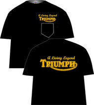 Triumph living Legend pocket tee shirt