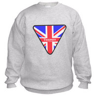 TRIUMPH brit flag sweatshirt