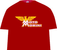 MOTO MORINI tee shirt (red)