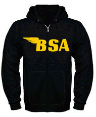 BSA hooded sweatshirt (zippered)
