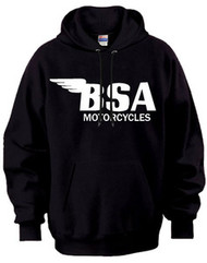 BSA motorcycle hooded sweatshirt