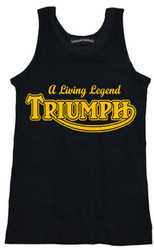 triumph motorcycle tank top
